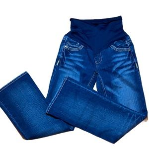 Motherhood Maternity Jeans with belly band Size S